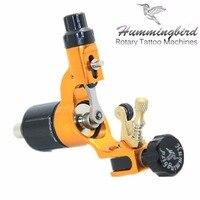 Original Hummingbird Gold Gen 2 Rotary Tattoo Machine Swiss Motor Liner Shader For Cord