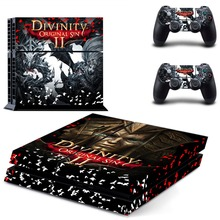 Game Divinity Original Sin 2 PS4 Skin Sticker Decal Vinyl For Sony PS4 PlayStation 4 Console and 2 Controllers PS4 Skin Sticker metro exodus ps4 skin sticker decal vinyl for sony playstation 4 console and 2 controllers ps4 skin sticker