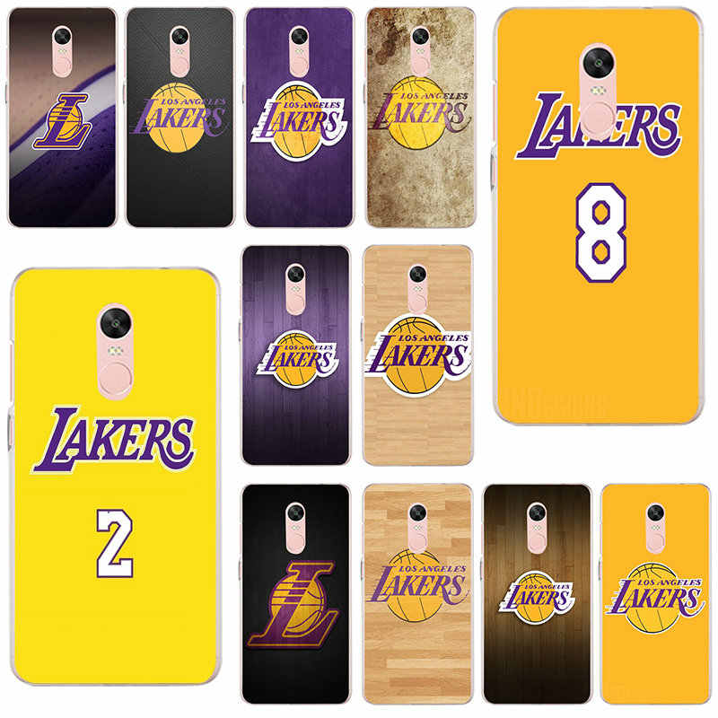 59ba9b12b2eabe Detail Feedback Questions about Soft TPU Phone Cases Cover for Xiaomi Redmi  Mi Note 4X 2 3 3S 4A 5 6 5S 5X 5A 6X Pro Plus Angeles Lakers Basketball  Team ...