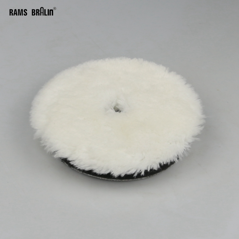 "1 Piece 5""/6"" Sponge & Wool Buffing Wheel For Car Motorcycle Paint Care"
