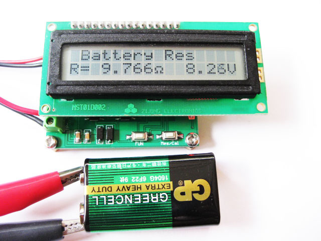 Esr Meter For Batteries : Free shipping pc battery internal resistance meter esr