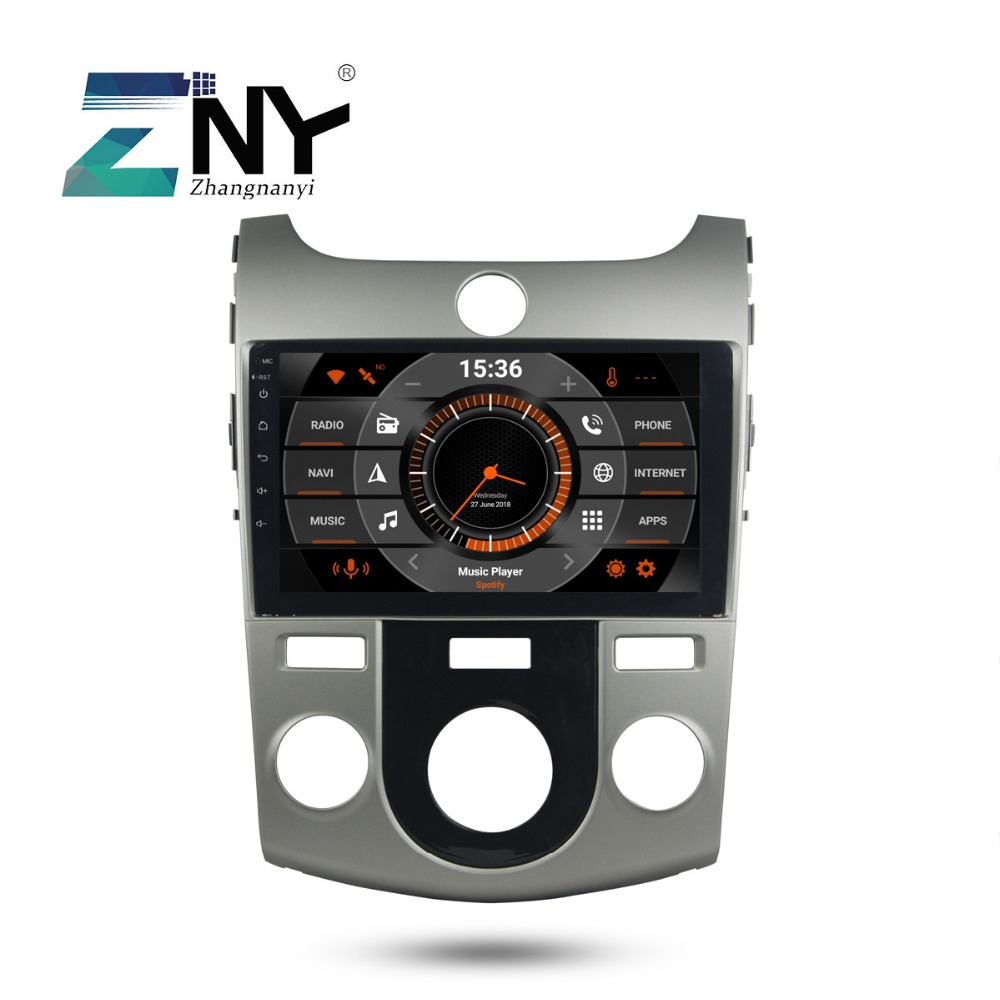 9 IPS 2 Din Android 9.0 Car Stereo For Kia Forte Cerato 2008 2009 2010 2011 2012 Auto Radio GPS Navigation Backup Camera No DVD