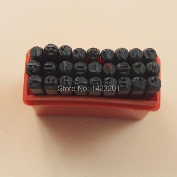 2 mm un ensemble acier timbre lettre Die Punch Jewelers Set métal en cas F326 dans Timbres de Bureau et des Fournitures Scolaires