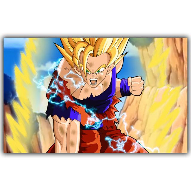 Dragon Ball Poster Classic Anime Cartoon Silk Print 30x48cm 50x80cm
