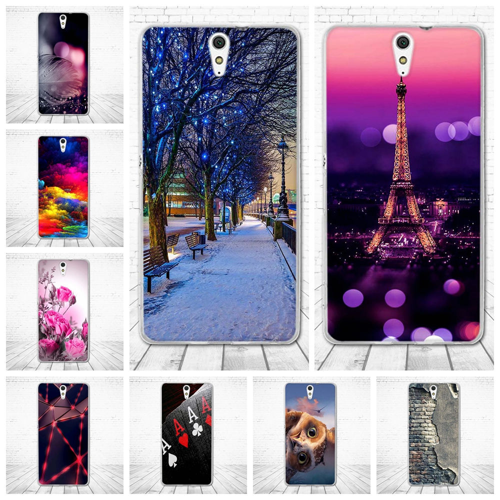 For Sony Xperia C5 E5553 E5506 Case Soft Silicon TPU Back Cover 3D Cute Bag For Sony Xperia C5 Ultra / C5 Ultra Dual Phone Cases