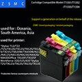 4 unids 135 compatible T1351 cartucho 133 de tinta para Stylus T25/TX123/TX125/TX133/TX135 impresora