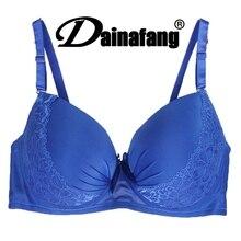 Sexy Push Up Blue soutien France Brand girls underwear