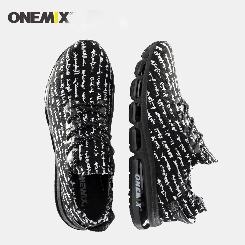 ONEMIX Spring Breathable Antislip Soft Running Shoes Men Sport Shoes Running Sneakers Running Men Shoes Big Size 5-12 paw patrol фигурка щенок спасатель marshall