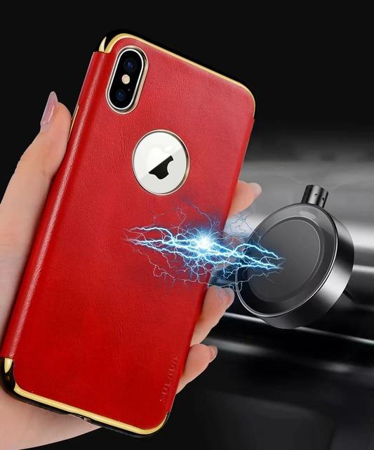 iphone x coque magnetique voiture