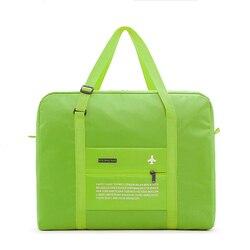 Дорожные сумки, водонепроницаемая дорожная складная сумка, Большая вместительная сумка для багажа, Женская нейлоновая складная сумка, доро...