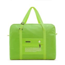 Дорожные сумки, водонепроницаемая складная сумка для путешествий, вместительная сумка для багажа, Женская нейлоновая складная сумка, дорож...