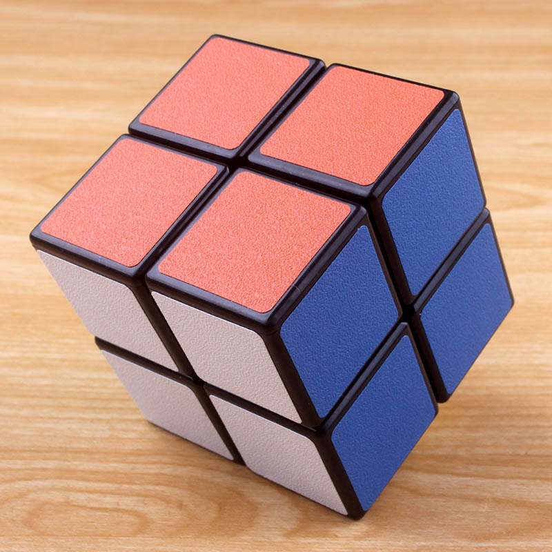 2X2X2 Magic Cube Professional Speed Rubiks Cube Speed Twist Puzzle Cube Educational Toys For Kids Children Xmas Gift Cubo Magico