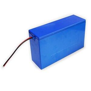 Image 4 - Contenitore di batteria al litio 13S6P 48V 20Ah li ion cassa di batteria + supporto + nichel + 13S 20A BMS Per 18650 batteria