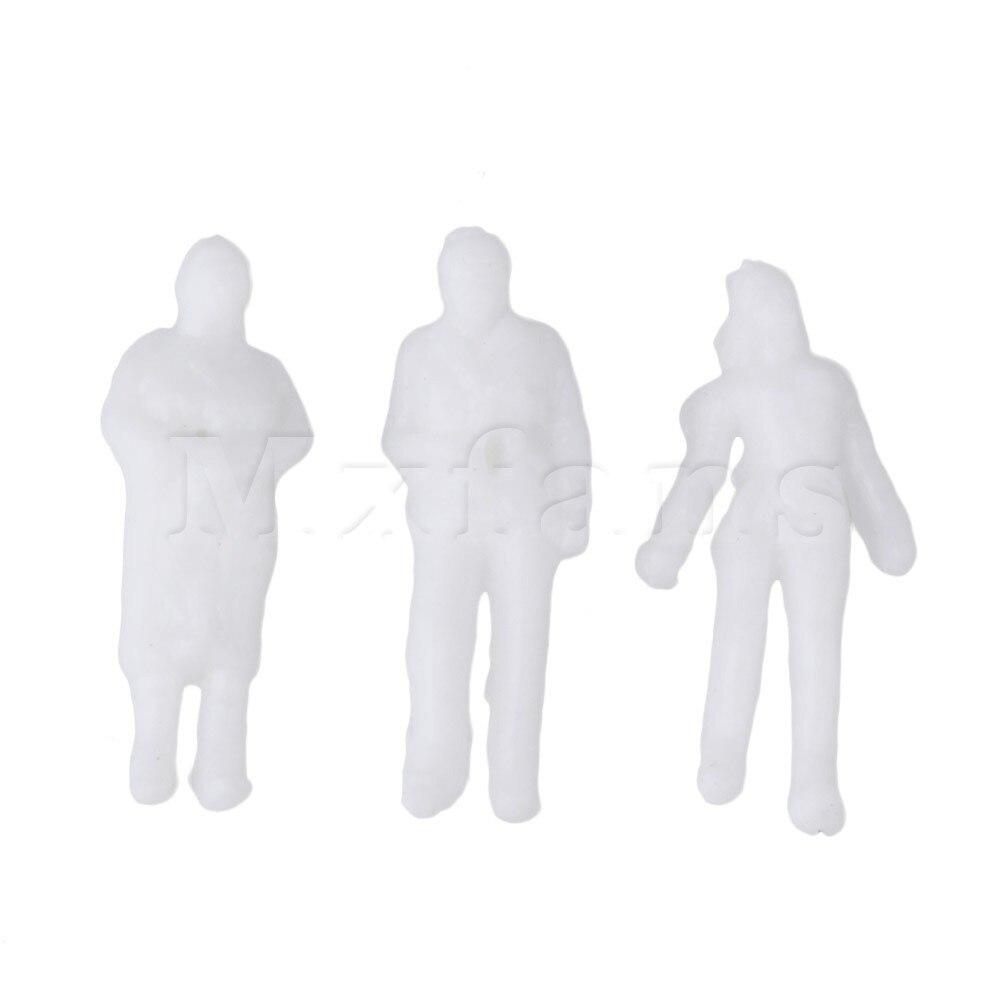 Mxfans белый 1 компл. 200 модель поезда Люди рисунок пассажиры 1:150 Весы