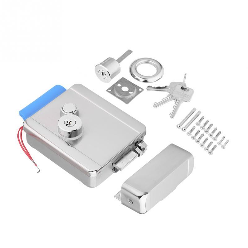 Q799 Security Electric Lock Electric Control Door Lock For ...