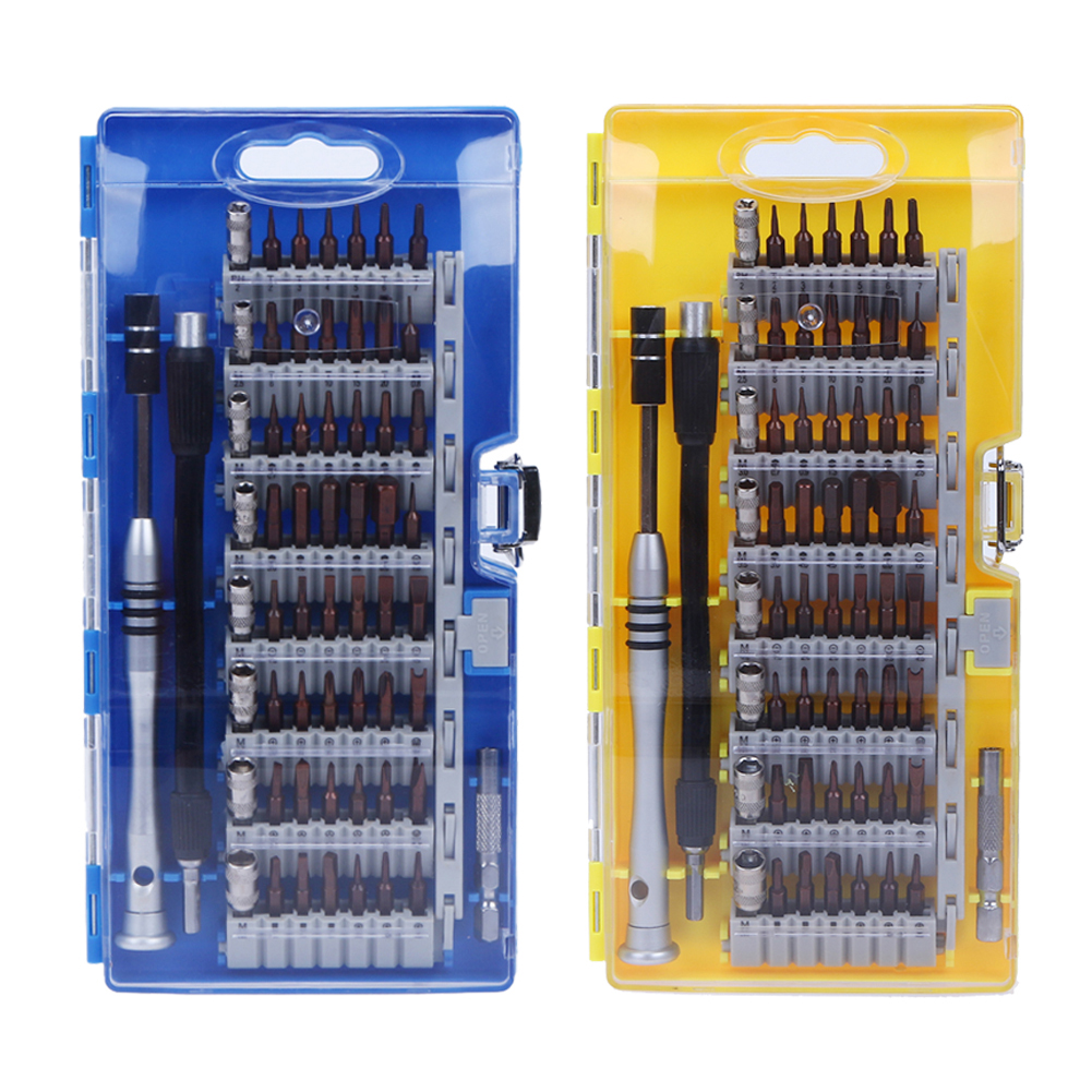 купить 60in1 Precision Torx Screwdriver Set Professional Electronic Mini Screwdriver Bits Computer Mobile Phone Car Repair Opening Tool недорого