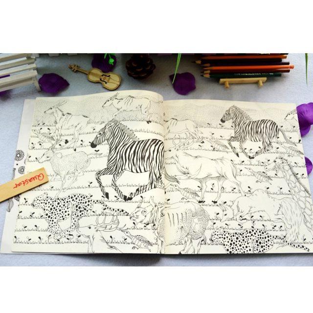 Tienda Online Moda Bosque Secreto libro para colorear Para Los Hijos ...