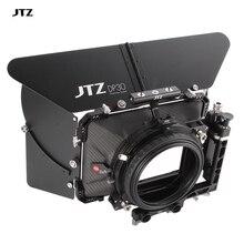 """JTZ DP30 440 Cine углеродное волокно 4x"""" распашная Матовая коробка 15 мм/19 мм Система стержней"""