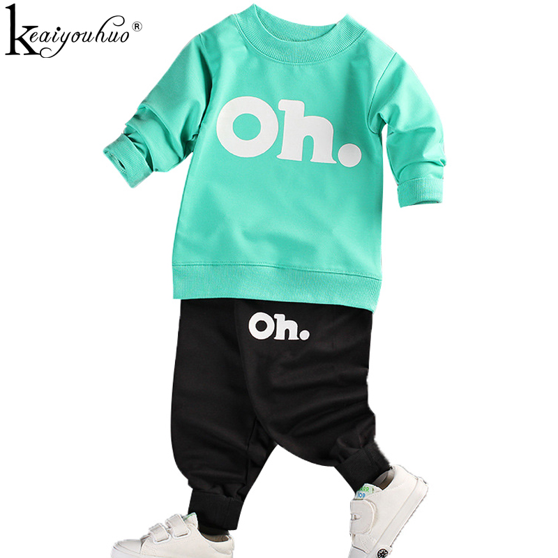 KEAIYOUHUO 2017 Girls Clothes Set Long Sleeve Clothing