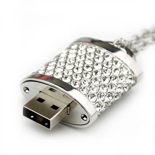 8gb valentine's lock crystal usb flash drive personalized usb flash drive pendant gift usb flash drive