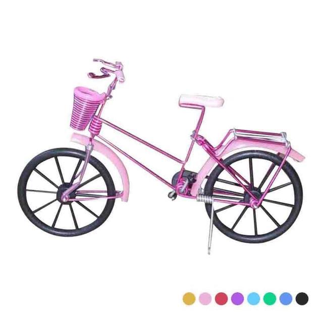 8 Farben Fahrrad Form Home Living Dekoration Metall handwerk Bike ...