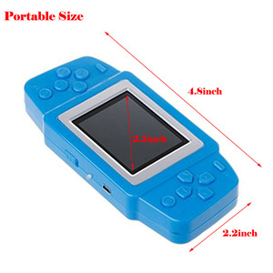 Image 5 - Video Game Retro Handheld Games Console for Kids with Built in 268 Classic Old Games Best Gift for Child Nostalgic Player Puzzle