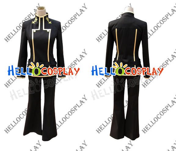 Code Geass CC School Boy Uniform Costume H008