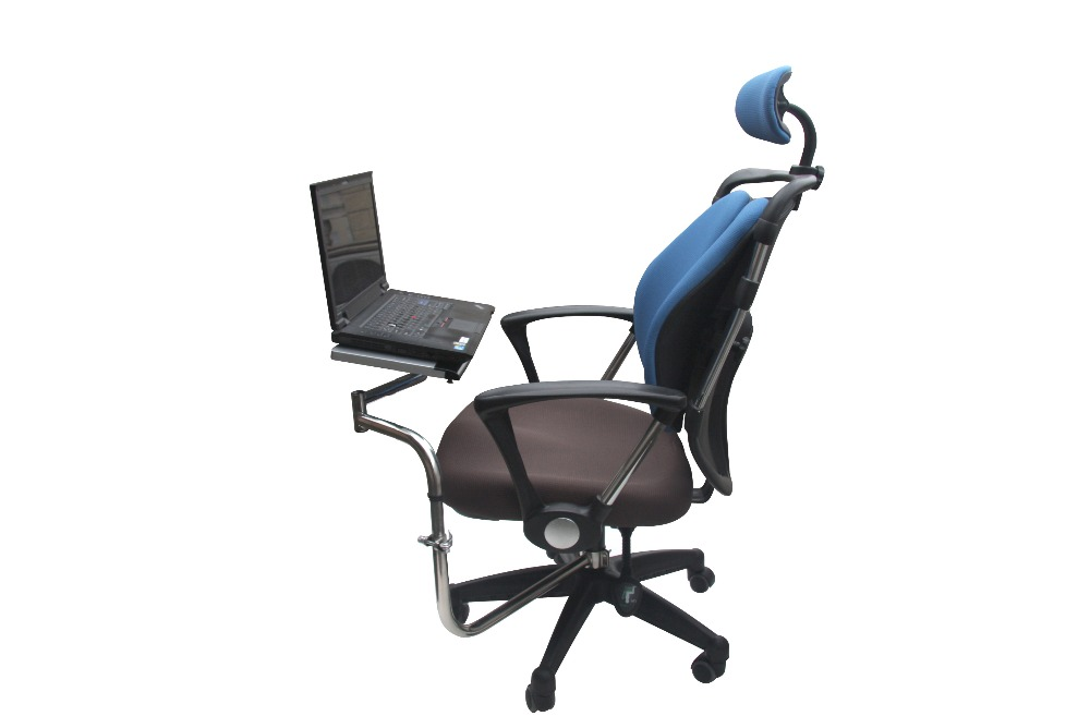 office chair with keyboard tray. Free Shipping Portable Folded Laptop Tablet Dual Fans IPADs Stand Comfortable Chairs Keyboard And Mouse Tray OK010 Adjustable-in Desks From Furniture Office Chair With K