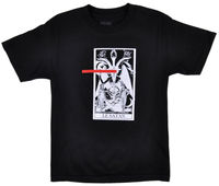 Black Scale Le Satan T Shirt BLACK SCALE Mens Tarot Occult Top Black 100% cotton tee shirt, tops wholesale tee 2019 hot tees