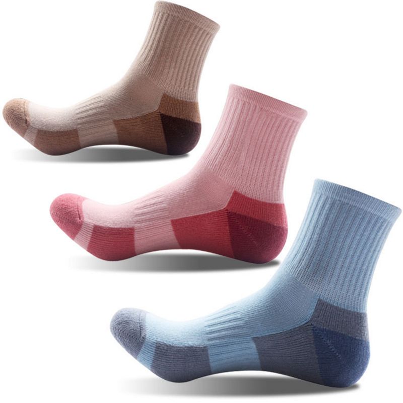 Fashion Unisex Male Female Sock Thick Thermal Towel Bottom Foot Wear cotton woman Short Tube Socks