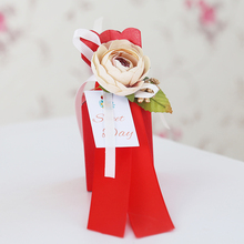 20pcs/lot Gift box Paperboard colorful wedding gifts for guests Candy boxes baby shower favors and Supplies