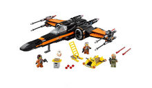 2019 New Star Wars Poe's X-wing Fighter Assembled Set Building Blocks Toys for Children legoings(China)