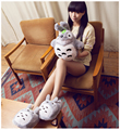My Neighbor Totoro cosplay Slippers Cartoon Plush Totoro Warm Home Shoes 121507