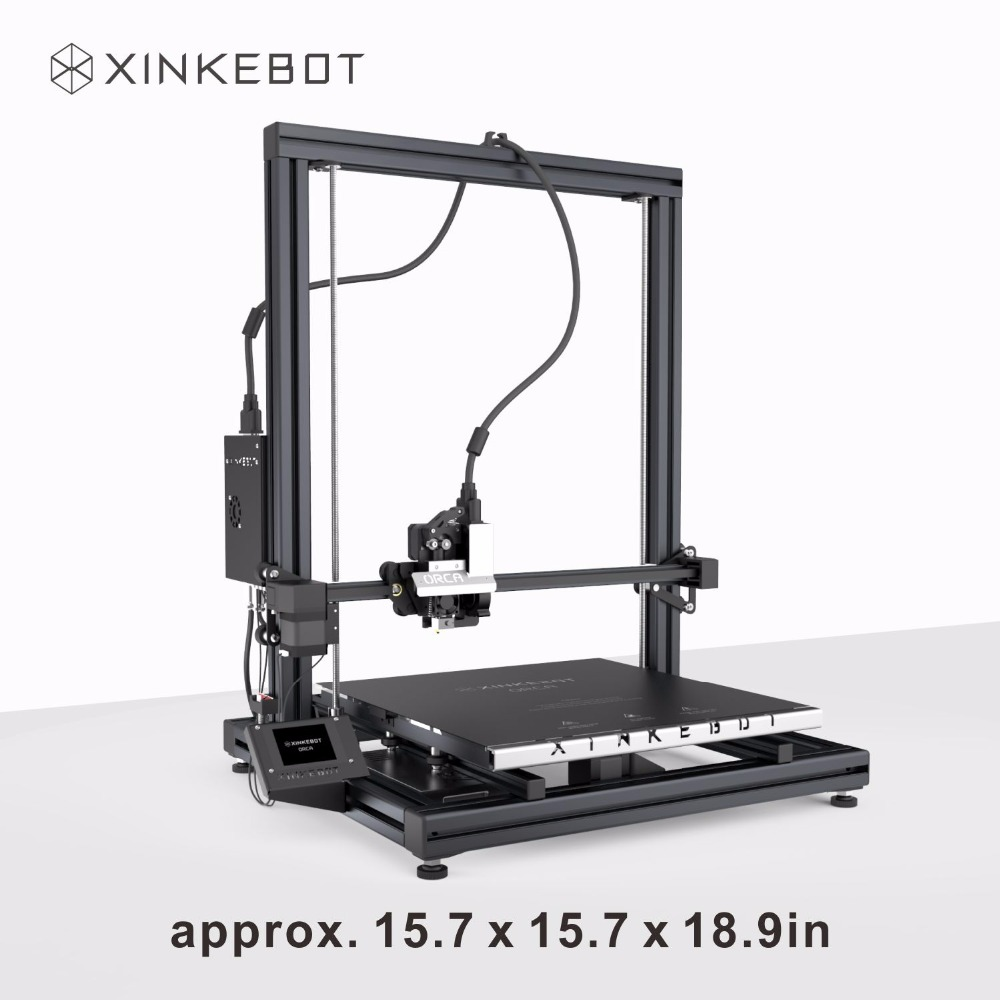 Auto Leveling 3D Printer XINKEBOT Orca2 Cygnus Metal Frame Dual Extruder DIY 3D Printer for Sale
