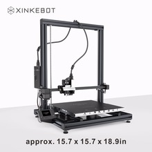 Auto Leveling 3D Printer XINKEBOT Orca2 Cygnus Metallic Body Twin Extruder DIY 3D Printer for Sale