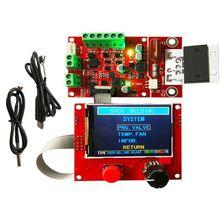 Пневматический точечный сварочный контроллер с вентилятором и датчиком температуры 100A сварочный контроллер NY-D08 qiang