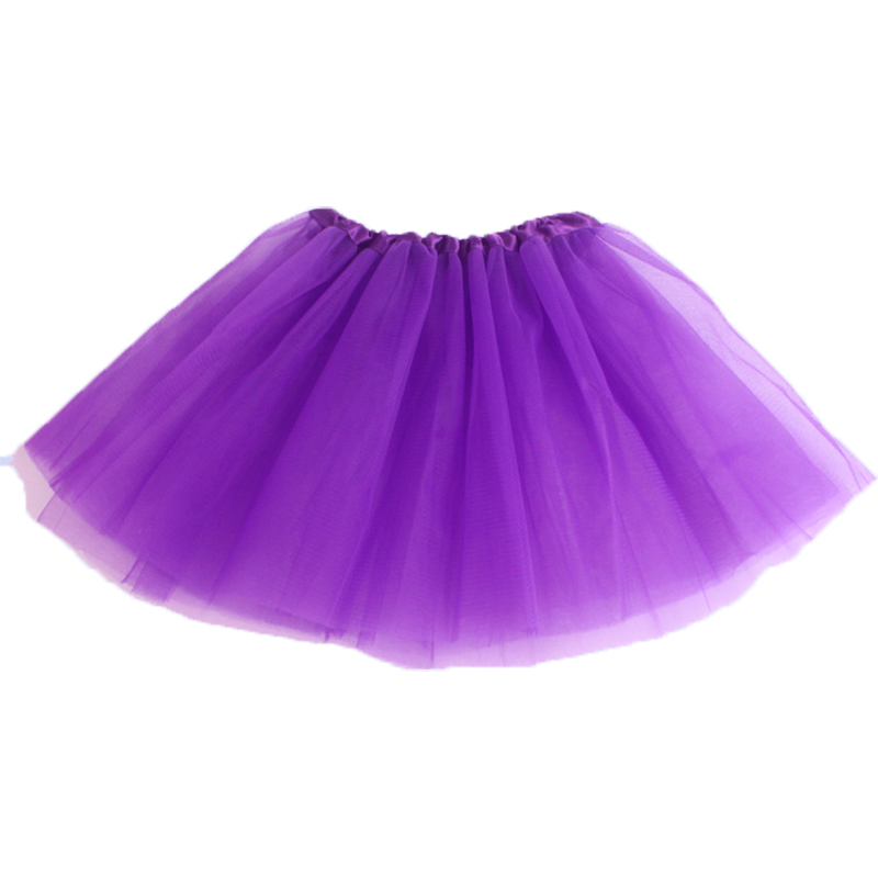 kids dresses for girl dress candy color kids tutus dance clothe soft tutu dress ballet 3layers children