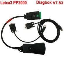 2016 Venta Caliente Profesional Herramienta de Diagnóstico de Lexia 3 PP2000 V48 V25 Lexia-3 PP2000 herramienta de diagnóstico Más Nueva DIGBOX V7.83