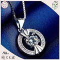 Top Quality Very Popular And Fashion 925 Sterling Silver Round Pendant
