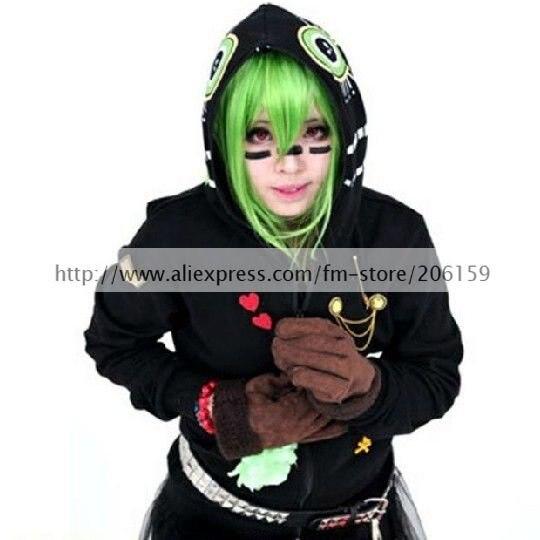 приятель вокалоид резинка черная Курт косплей костюм с уединения для манга для мужчин задача для женщин пальто спортивная одежда для Halloween мудрым
