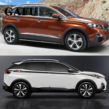 For PEUGEOT 3008 3008GT 2017 2018 Both Side Sticker Car-Styling Sport Car Accessories