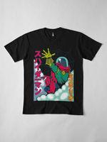 Spider man And Mysterio Japanese Manga Style Black T Shirt Size S 6XL 2019 fashion t shirt,100% cotton tee shirt