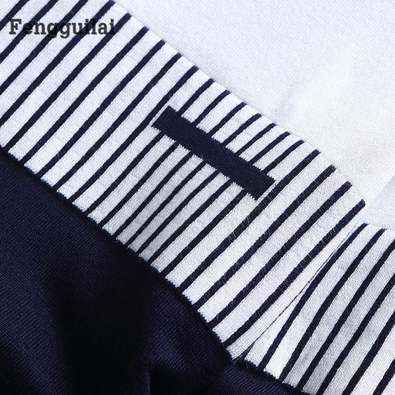 New Korean Fashion Cardigan Sweater Jumper Men Knit Pullover Coat Long Sleeve Sweater #4