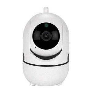 Image 1 - Wdskivi מסלול אינטליגנטי 1080 P ענן ה IP מצלמה אבטחת זיהוי הפנים תינוק צג WiFi אלחוטי מצלמה מיני מקורה מצלמה