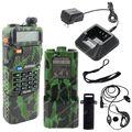 BAOFENG УФ-5R VHF/UHF Dual Band 136-174/400-520 3800 мАч Хэм Двухстороннее Радио LB0483