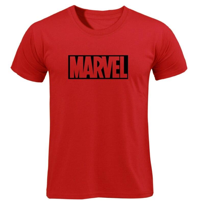 MARVEL T-Shirt 2019 New Fashion Men Cotton Short Sleeves Casual Male Tshirt Marvel T Shirts Men Women Tops Tees Boyfriend Gift 27