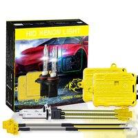 1 Set 12V 35W AC Fast Start H7 H4 9005 9006 H11 H1 Kit 6000K HID