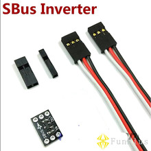 2 шт без сварных Naze32 Cleanflight SBus сигнальный Инвертер для подключения кабеля подтверждения сигнала для Naze32 управления полетом SBus приемник