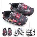 Frete Grátis 1 pair Sapatos de Bebê Da Criança AO AR LIVRE, sapatos slip-resistente macio menino