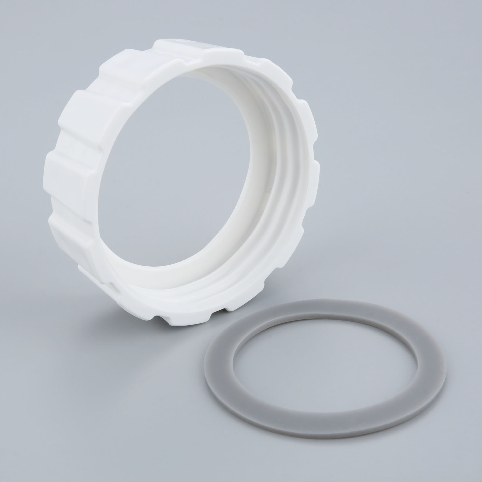 Replacement Bottom Jar Base Cap Sealing Gasket Fit For Hamilton Beach Blender White